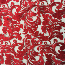 Classic Hot Selling Yarn Embroidery Fabric