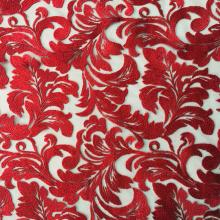 Классическая Горячая Продажа Пряжи Вышивка Ткань