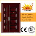 Главная стальные железные двери с покраской медный (СК-s012 в любой)