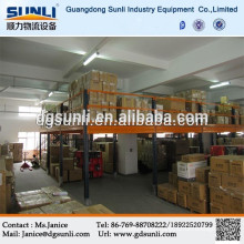 Warehouse storage adjusted steel mezzanine floor