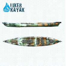 Plastic Kein aufblasbarer Angler Boote zum Verkauf Fish Liker Kayak