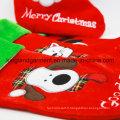 Broderie de qualité / Applique Velours Good Doggie Dog Style Stocking for Decoration