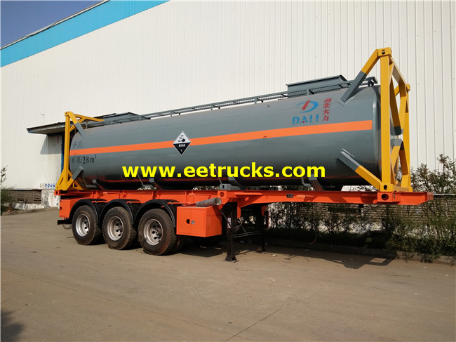 28cbm Sulfuric Acid Tank Containers