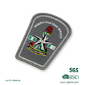 Design personnalisé avec un badge de broderie