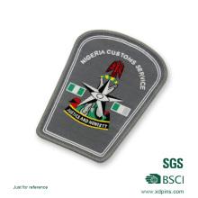 Design personalizado com emblema de bordado
