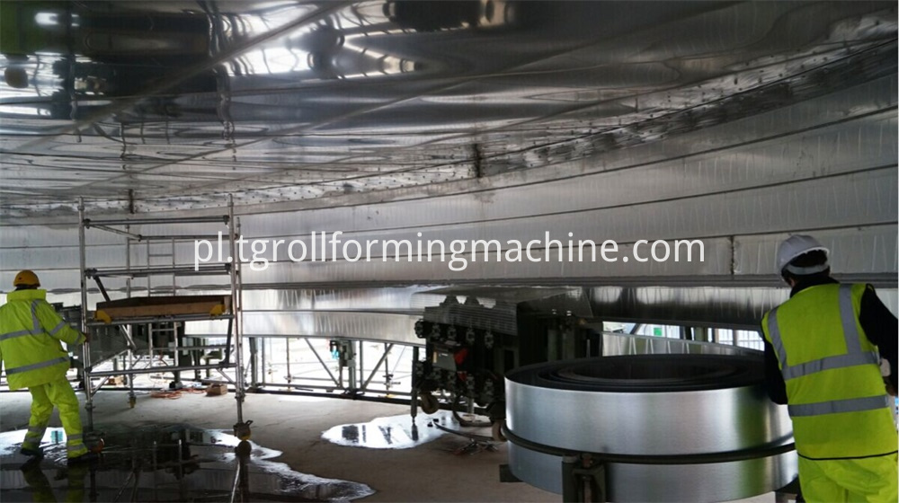 Grain Silo Bin Machine