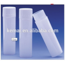 Frasco plástico del plástico de la botella 4ML Botellas del casquillo del tornillo