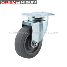 TPR tugas kecil galas Roller berkualiti tinggi pusing perindustrian Caster roda 4 inci