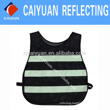 CY Mesh Warning Reflective Safety Vest Tape Luminescent Fabric Glow in the Dark Fabric