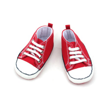 Bright Red Unisex Kids Casual Shoes Grossist