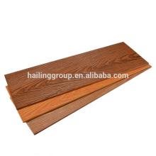 Panneau décoratif de ciment de fibre de grain en bois