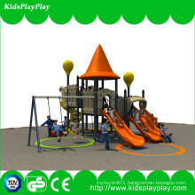 Best Price Kids Amusement Equipment Small Outdoor Playground with Swing