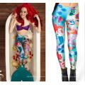 2015 mujeres de la moda 3D leggings impresas (58580)