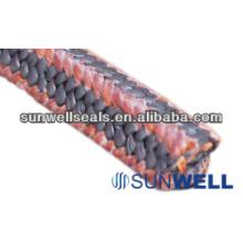 PTFE Embalagem com cantos de fibra de Kynol