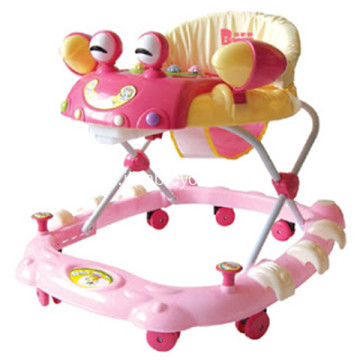 New Round Outdoor Baby Walker
