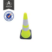 Cone de sécurité routière réfléchissante en PVC