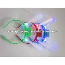 luzes de cabelo de fibra óptica
