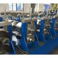 Aluminium Galvanized Highway Guardrail Roll Forming Machine