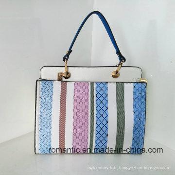 Fashion PU Lady Hot Selling Style Leather Handbags (LY060284)