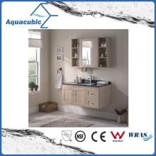 Bathroom Vanity with Artificial Marble Black Top Ceramic Basin (ACF8900)