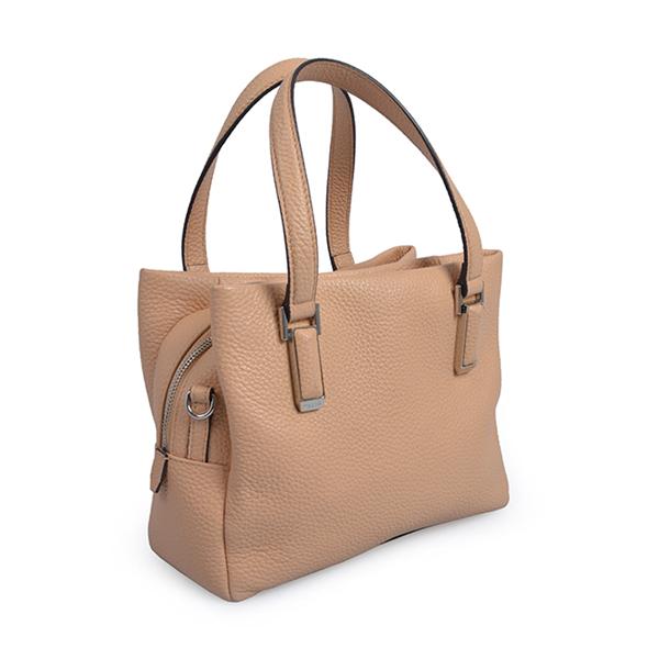 Multiple Color Women Vintage Large Zipper Shoulder Bag Leather Tote Bag
