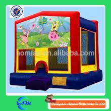 2014 novo cartoon hig qualidade PVC inflável bouncer