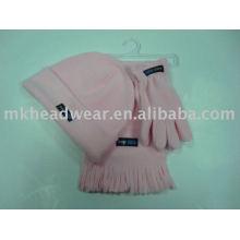 kids cute cheap fleece sets for promotional