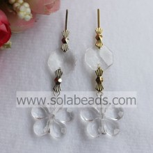 Cool 21mm Crystal Bead Light Curtain garland Drop