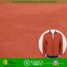 50d 2 camadas de tecido do Pongee do poliéster para jaqueta Mens