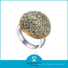 Прекрасное кольцо кластера из серебра (SH-R0321)