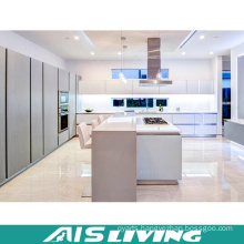 L-Shape with Island Kitchen Cabinets Furniture (AIS-K389)