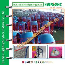 Fábrica da China venda diretamente carrinho de compras de brinquedo rosa para bebé