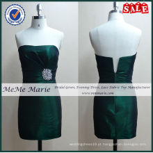 Cetim Tight Rhinestones Emerald Green Prom Dresses BYE-14009