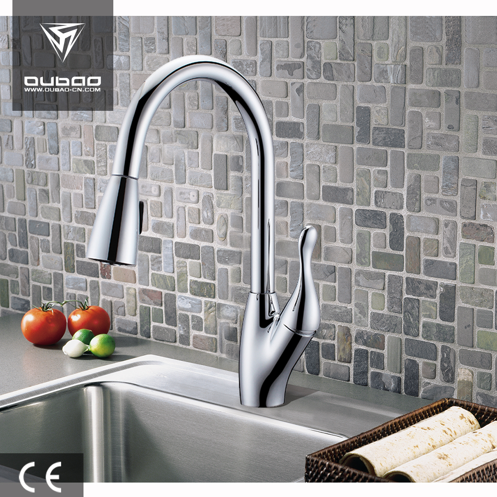 flexible hose kitchen faucet