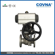 Lug wafer type stainless steel butterfly valve gear box