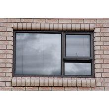 Panneaux huppés et portes en aluminium coulissants à double classe surdimensionnés
