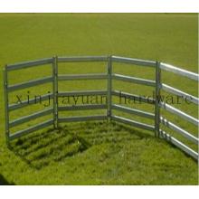 Porte en métal galvanisé avec cinq tuyaux (type moyen)