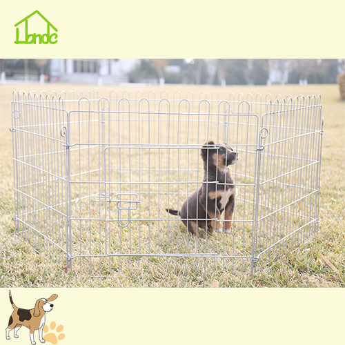 Cercadinho durável soldada Folding Pet Dog Playpen