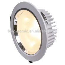 120degree, China fabricante fornecedor, indoor, redonda, chegada nova alta qualidade 3inch 120degree lente da geada cob levou downlights