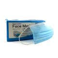 Máscara facial Modenna descartável azul 50 unidades