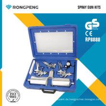 Rongpng R8888 9 STÜCKE HVLP Luftspritzpistolen Kits