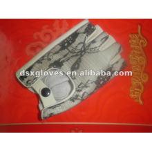 Guantes de cuero deportivo con forro de algodón (DSX-P009)