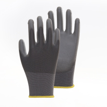 Cotton PU Coated Working Safety Gloves