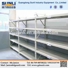 Dongguan Light Duty Lagerung Stahl Buchladen Regal