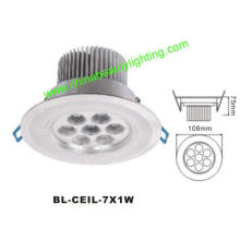 7W LED Light LED Downlight LED Ceiling Light