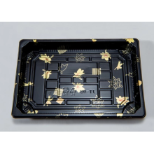 Einwegdruck-Kunststoff-Sushi-Tablett