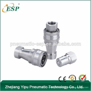 ESP KZF Close Type hydraulic and pneumatic quick release air couplings(Steel )