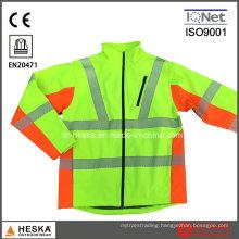 Heat Transfer Tape Hi Vis Softshell Jacket