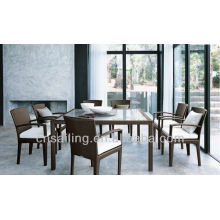 Hot sale Outdoor All Weather 8 person dining table and chair