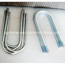 U-Shaped Bolts with Zinc Plating